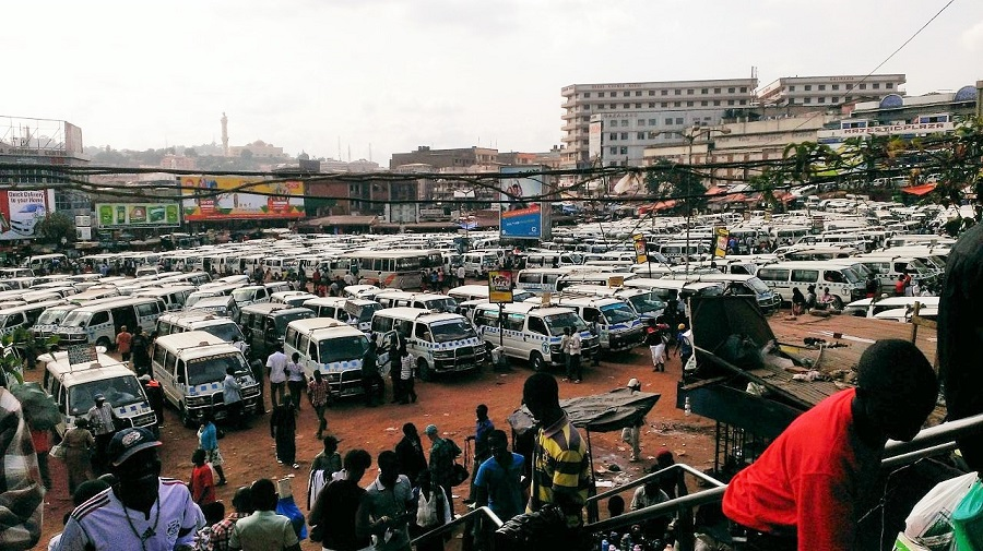 Navigating the taxi park is a nightmare.
