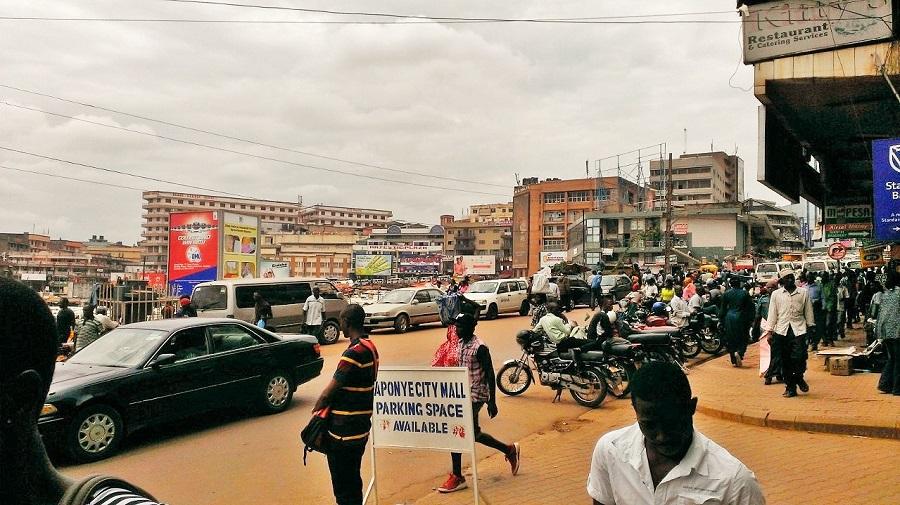 Walking in Kampala