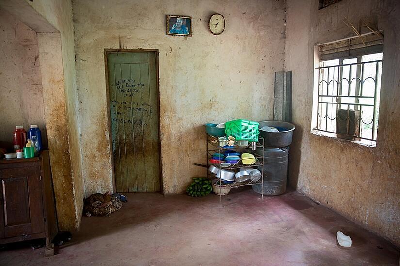 Inside Daada's house