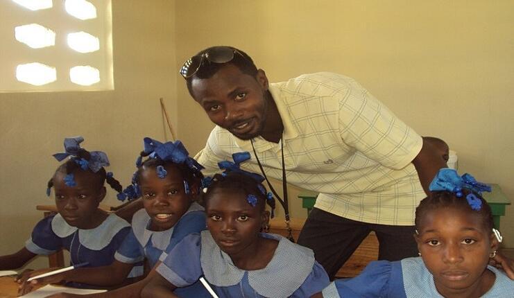 Catholic child sponsorship program Haiti