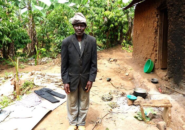 ddembe's father nice clothes