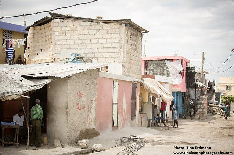 Port au Prince street scene