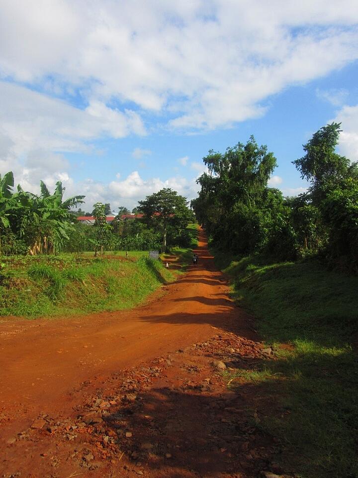 In Nkokonjeru, Uganda, the dirt, like so many things, is more colorful.