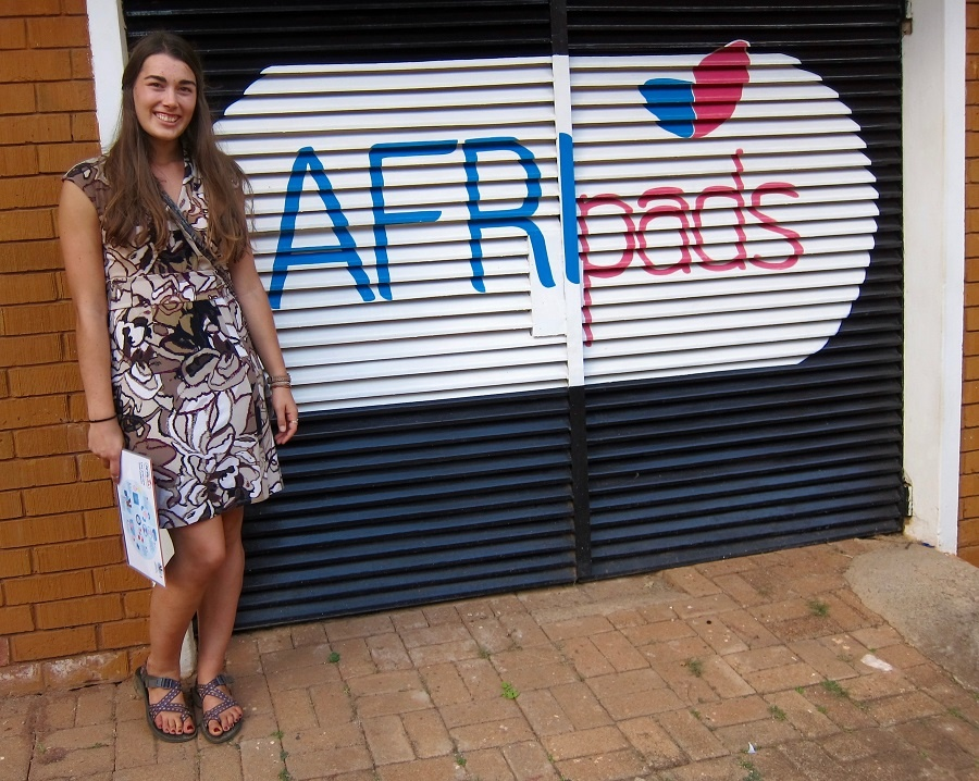 Sydney at afripads Kampala office.jpg